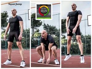 Squat jump circuito Tabata - Personal Trainer Taranto
