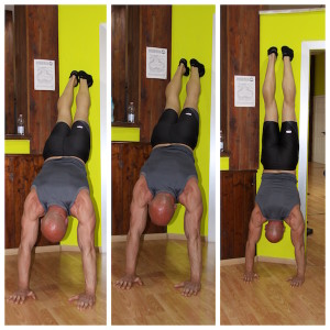 Wall Hand Stand|Calisthenics|Personal Trainer Taranto|Lanza Personal Trainer